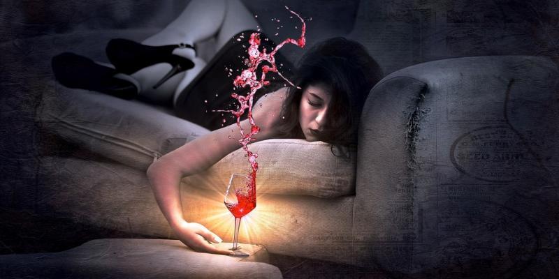Lampka wina nie zaszkodzi